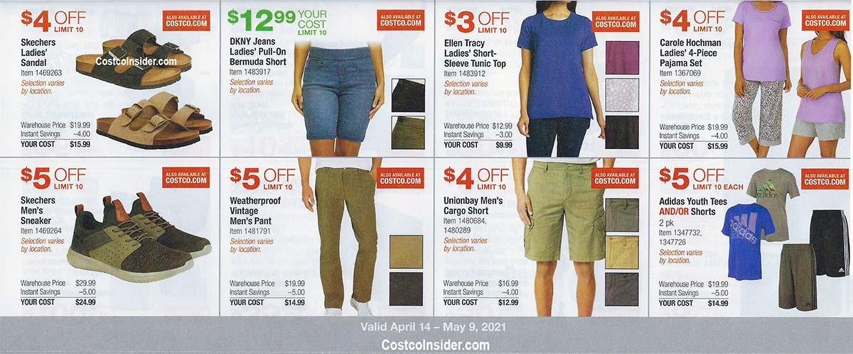 Costco April 2021 Coupon Book Page 9