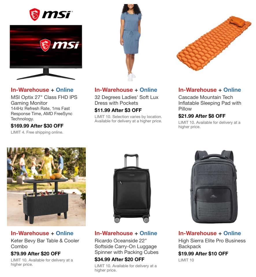 Costco April 2021 Hot Buys Coupons Page 6