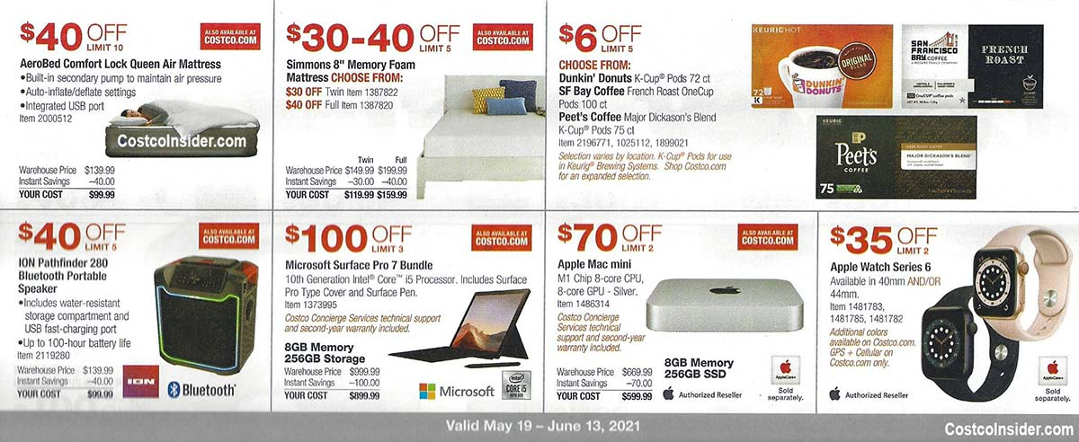Costco May 2021 Coupon Book Page 10