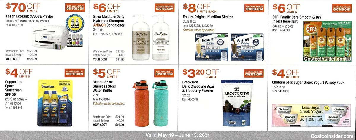 Costco May 2021 Coupon Book Page 14