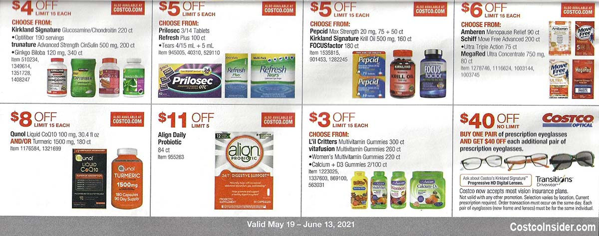 Costco May 2021 Coupon Book Page 20