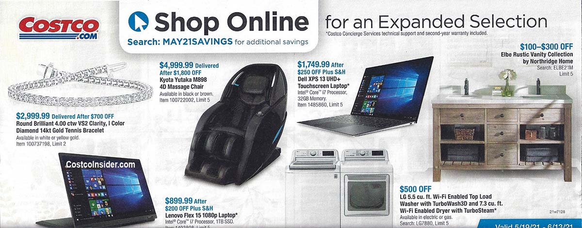 Costco May 2021 Coupon Book Page 21