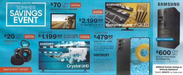 Costco May 2021 Coupon Book Page 5