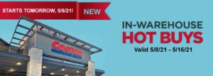Costco May 2021 Hot Buys Coupons Cover