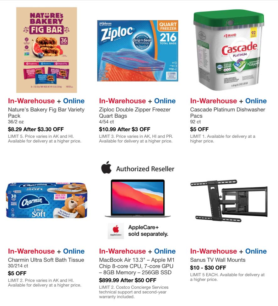 Costco May 2021 Hot Buys Coupons Page 4
