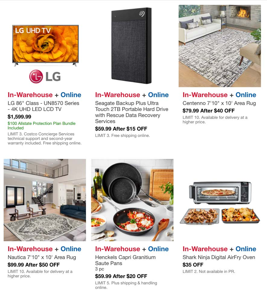 Costco May 2021 Hot Buys Coupons Page 5