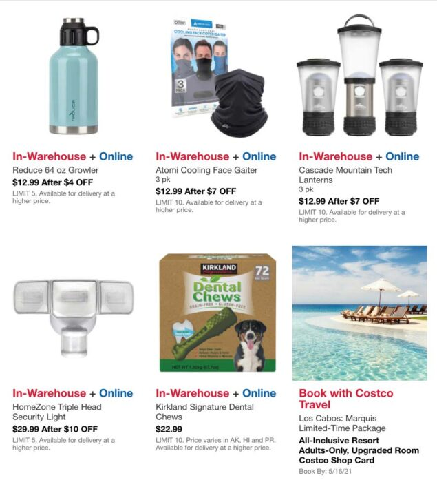 Costco May 2021 Hot Buys Coupons Page 6