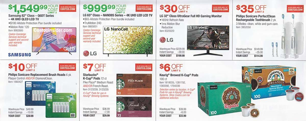 Costco July 2021 Coupon Book Page 10