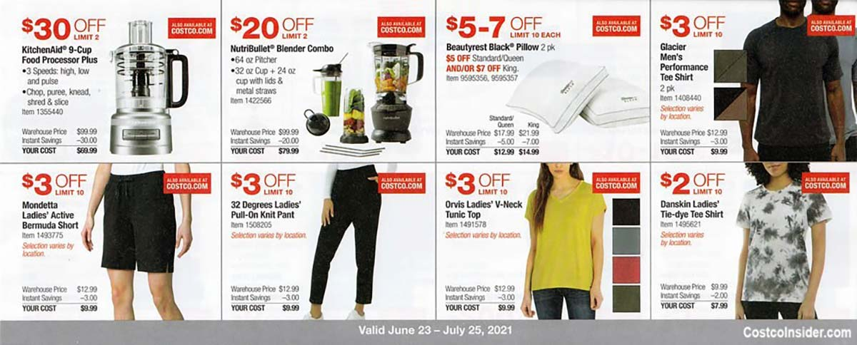 Costco July 2021 Coupon Book Page 11