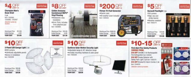 Costco July 2021 Coupon Book Page 12