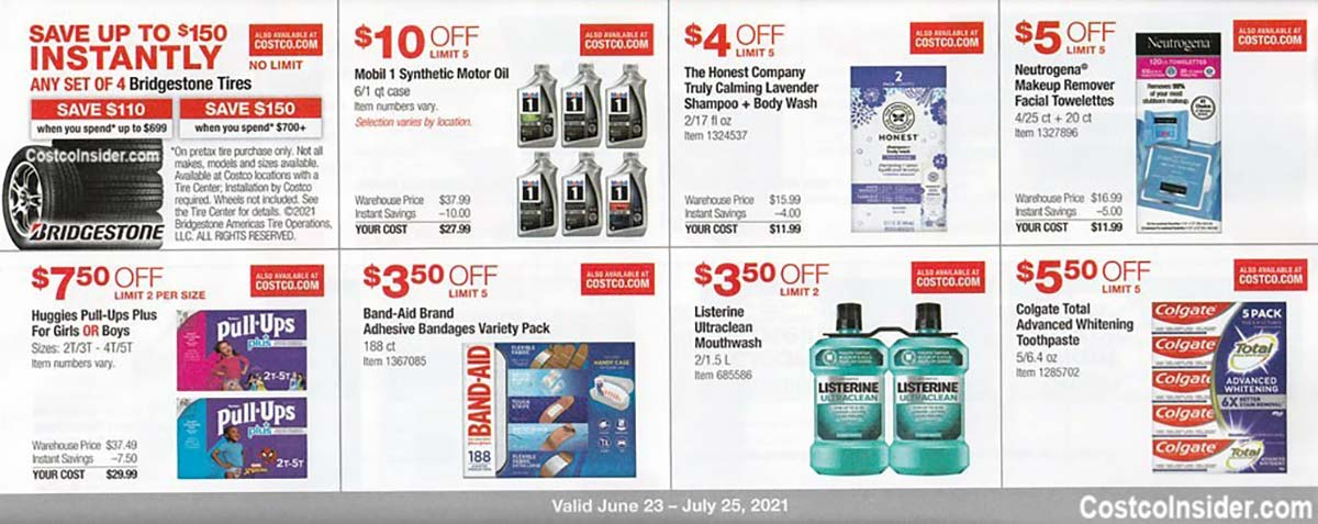 Costco July 2021 Coupon Book Page 13