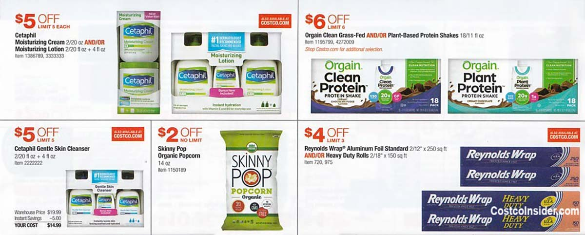 Costco July 2021 Coupon Book Page 14