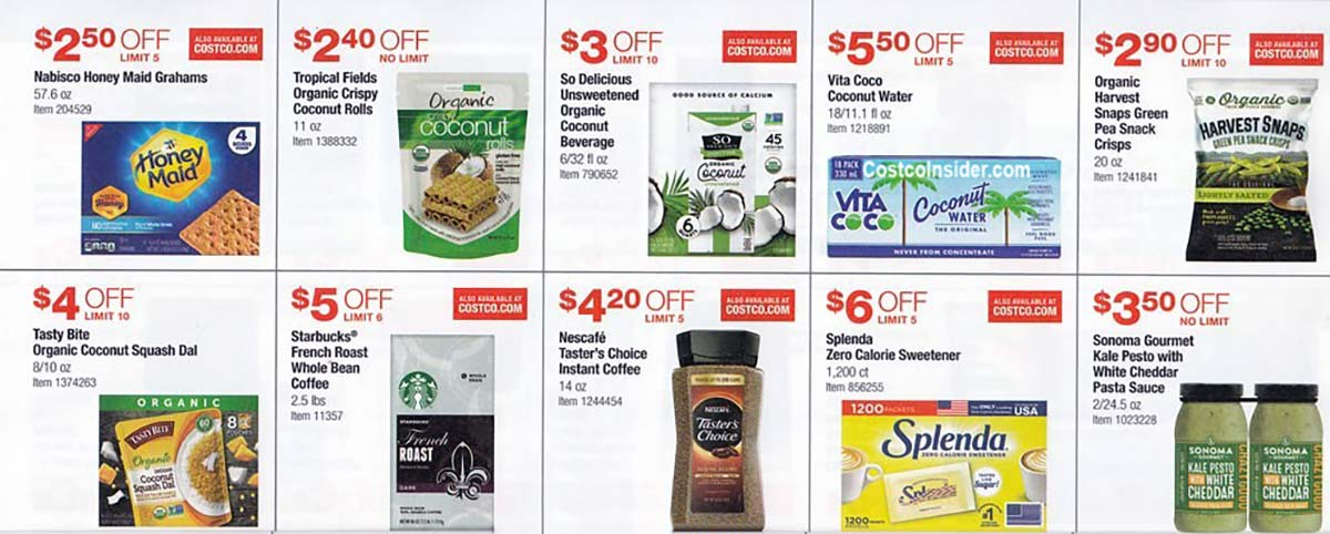 Costco July 2021 Coupon Book Page 16