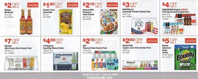 Costco July 2021 Coupon Book Page 17