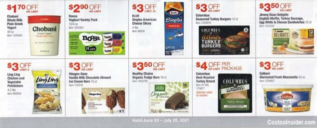 Costco July 2021 Coupon Book Page 19