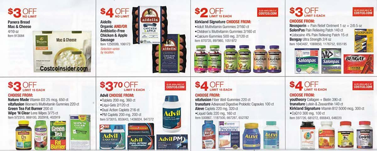 Costco July 2021 Coupon Book Page 20
