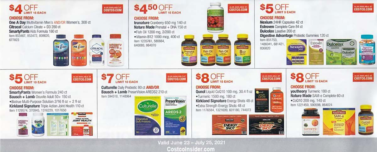 Costco July 2021 Coupon Book Page 21