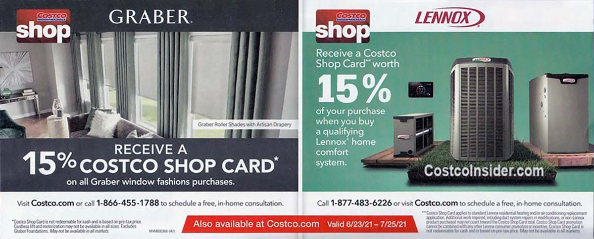 Costco July 2021 Coupon Book Page 5
