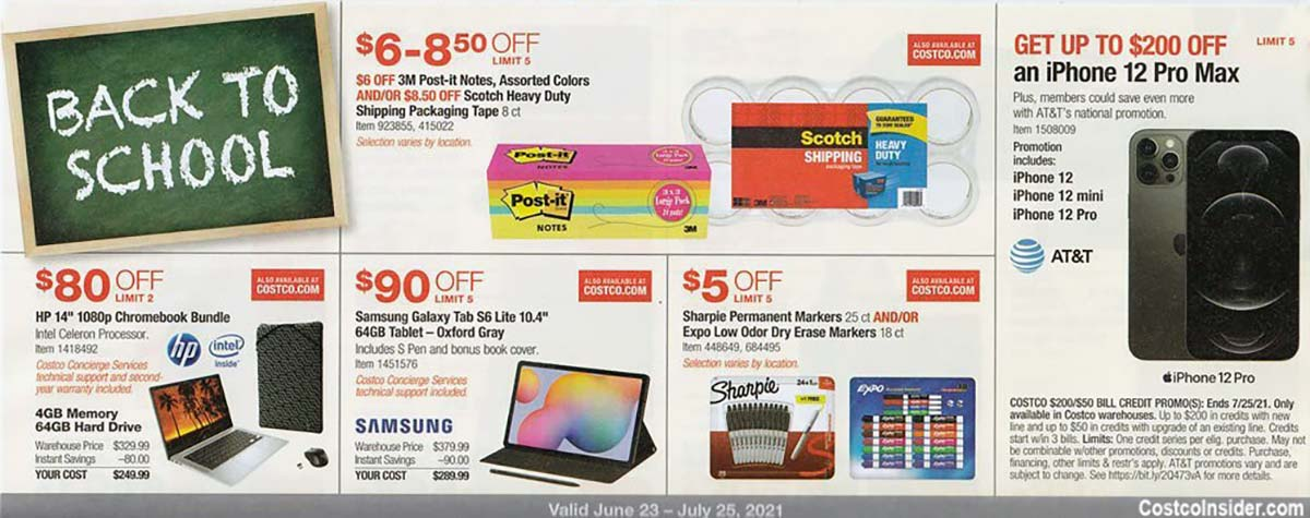 Costco July 2021 Coupon Book Page 9
