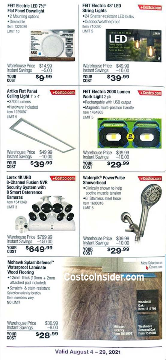 Costco August 2021 Coupon Book Page 11