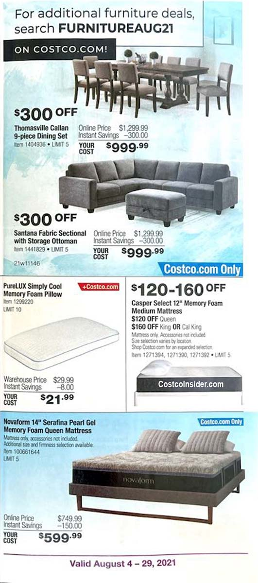 Costco August 2021 Coupon Book Page 12