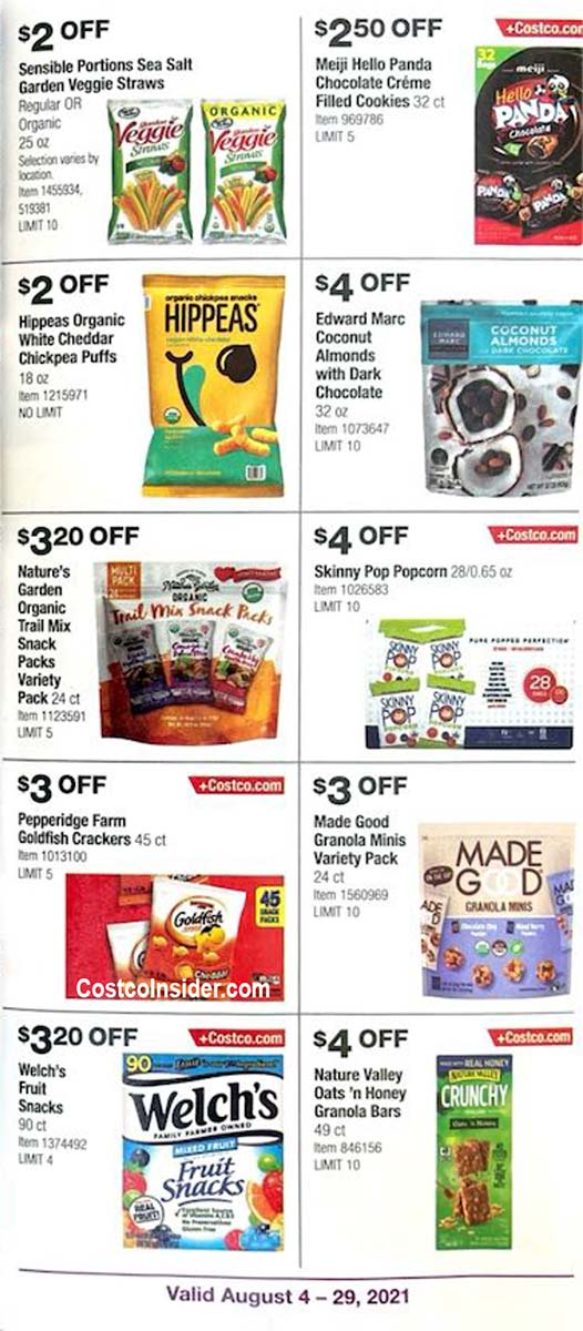Costco August 2021 Coupon Book Page 14