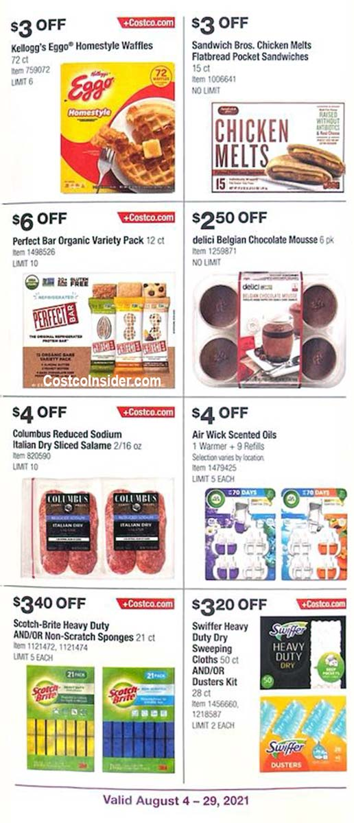 Costco August 2021 Coupon Book Page 18