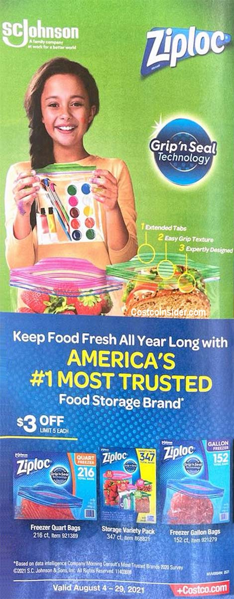 Costco August 2021 Coupon Book Page 19