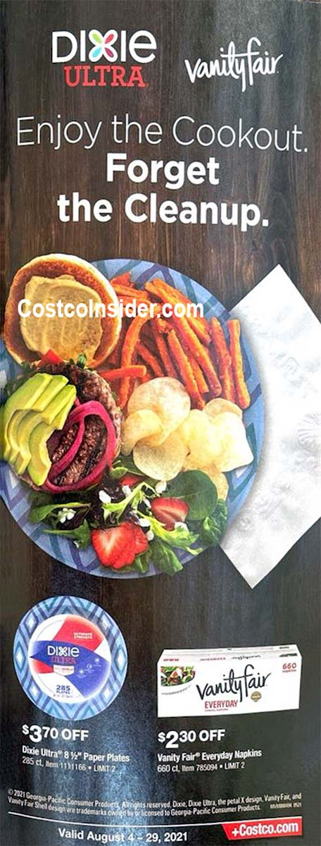 Costco August 2021 Coupon Book Page 20