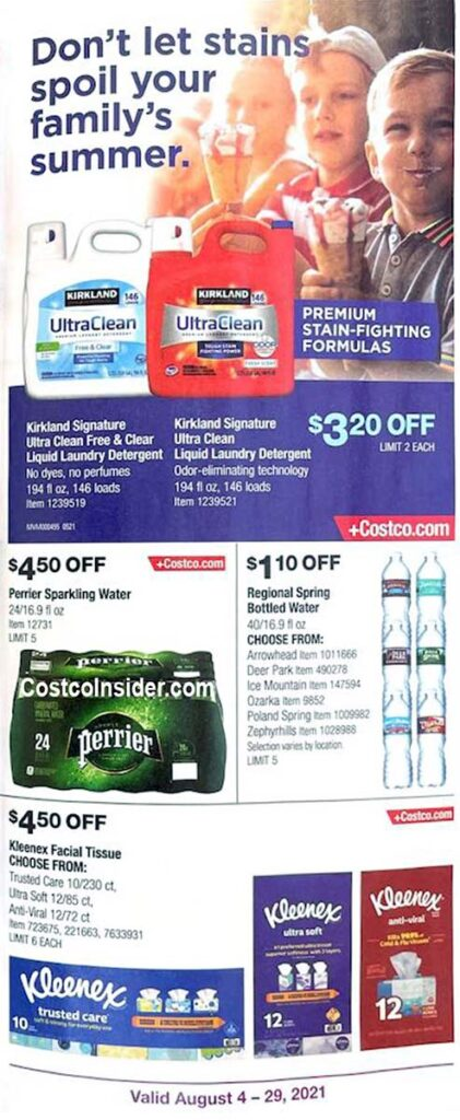 Costco August 2021 Coupon Book Page 22