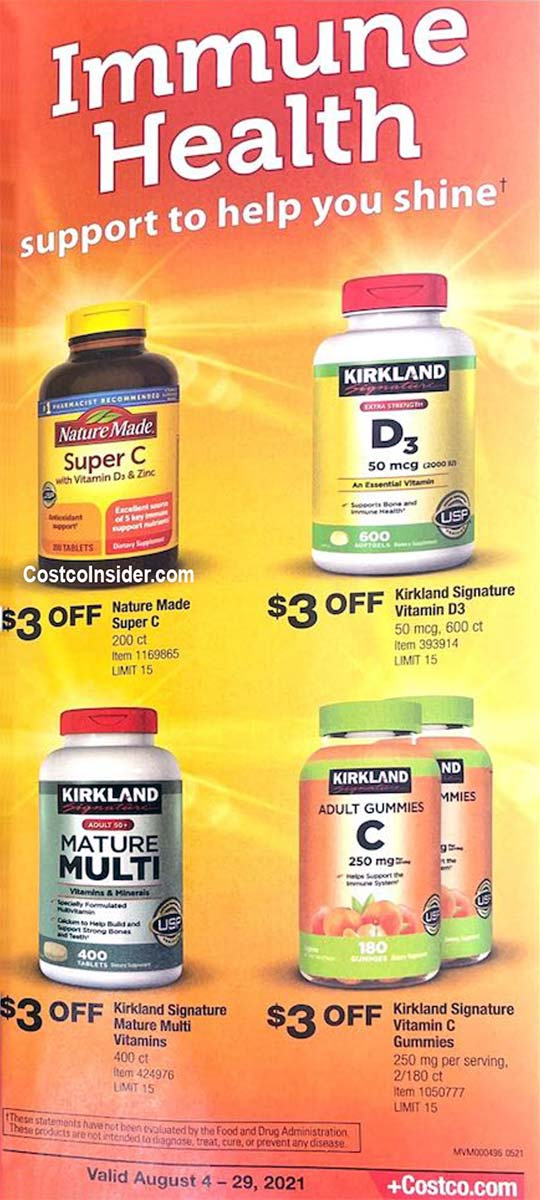 Costco August 2021 Coupon Book Page 26