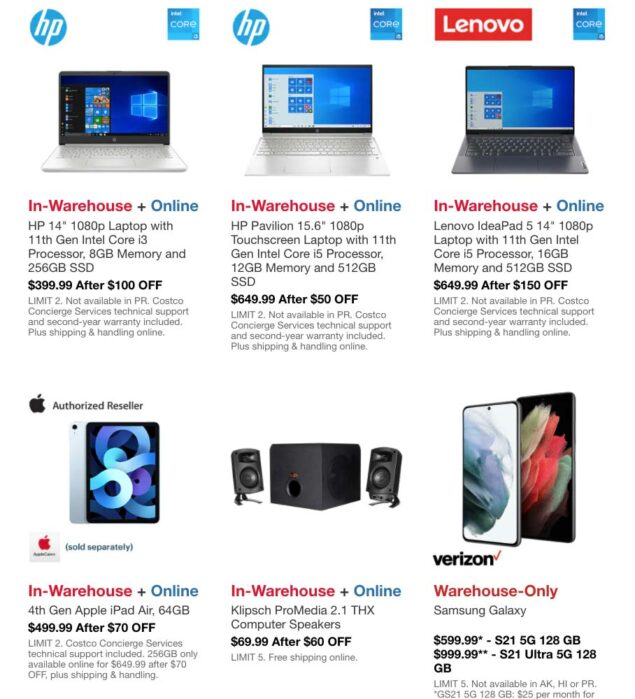 Costco July 2021 Hot Buys Coupons Page 3
