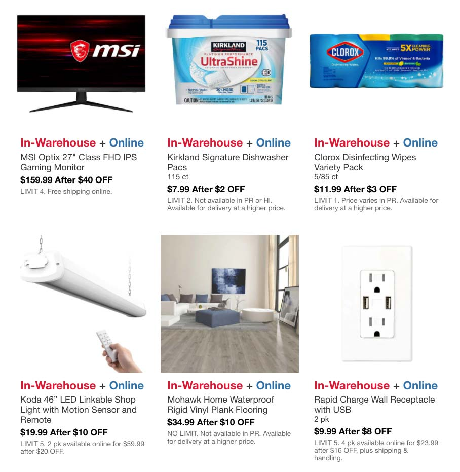 Costco July 2021 Hot Buys Coupons Page 4