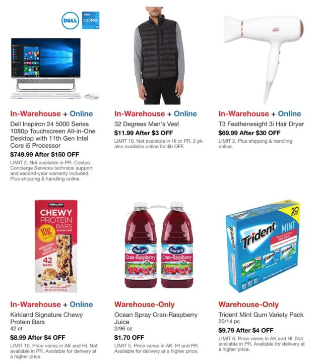 Costco August 2021 Hot Buys Page 3