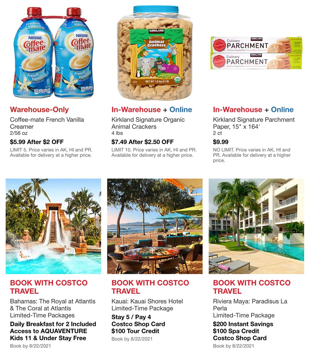 Costco August 2021 Hot Buys Page 4