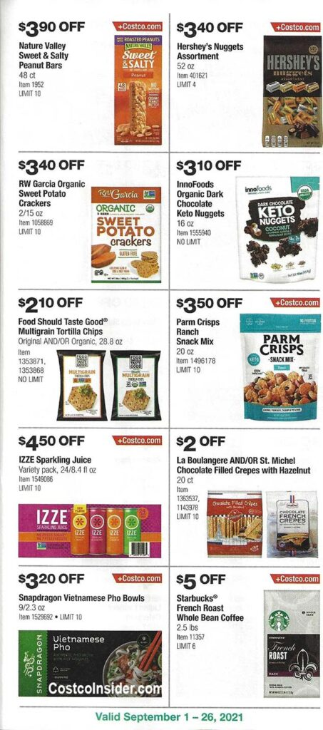 Costco September 2021 Coupon Book Page 18