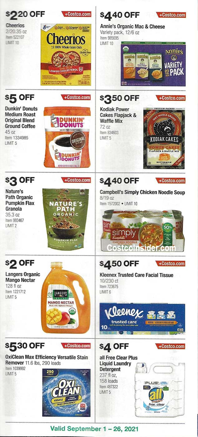 Costco September 2021 Coupon Book Page 19