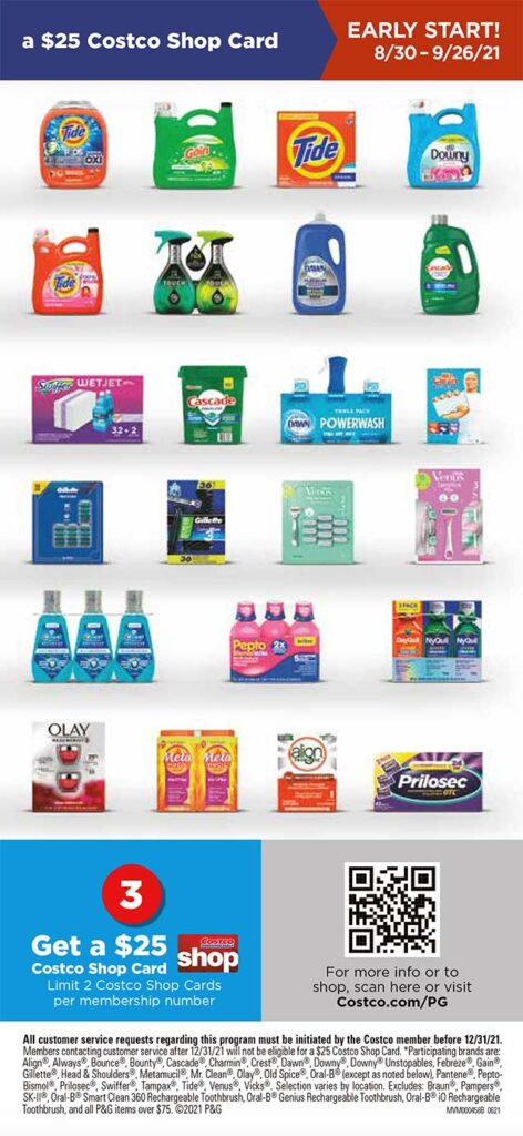 Costco September 2021 Coupon Book Page 2