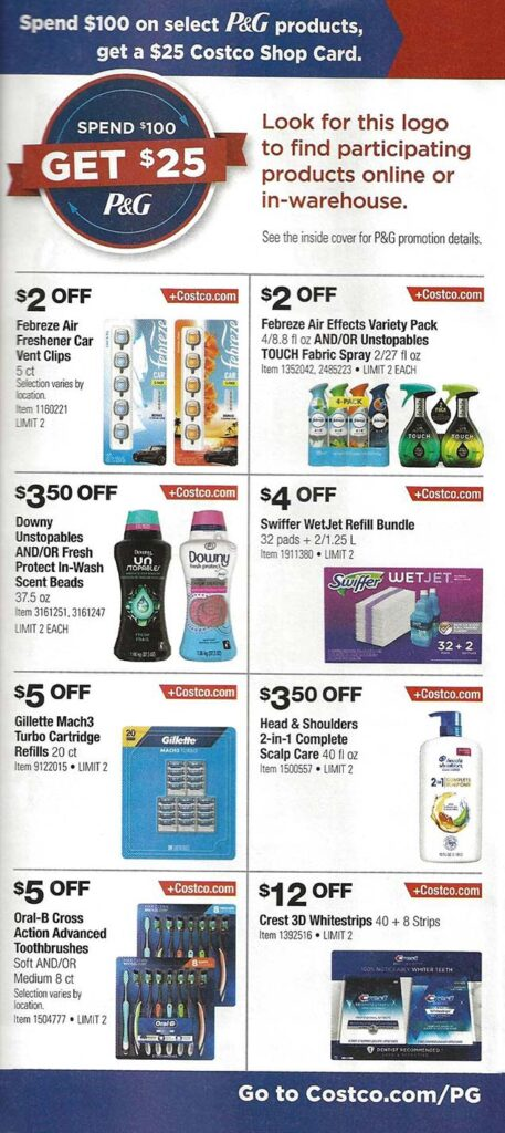 Costco September 2021 Coupon Book Page 3