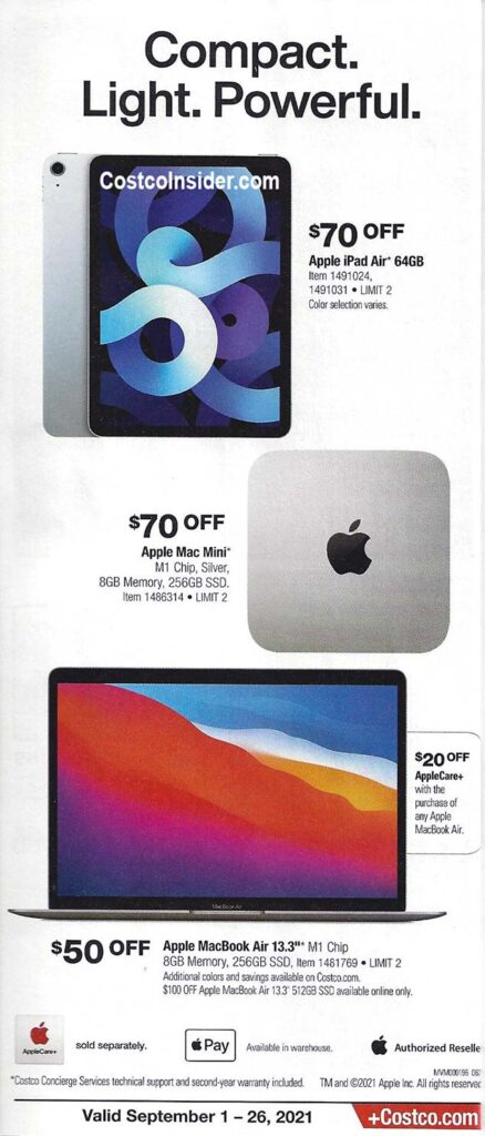 Costco September 2021 Coupon Book Page 9