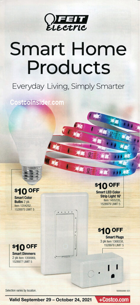 Costco October 2021 Coupon Book Page 11