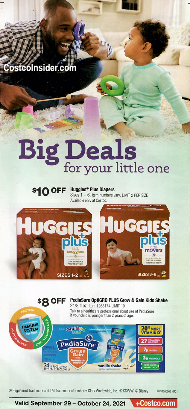 Costco October 2021 Coupon Book Page 13