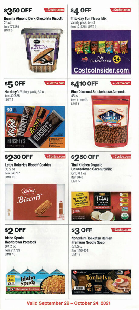 Costco October 2021 Coupon Book Page 16