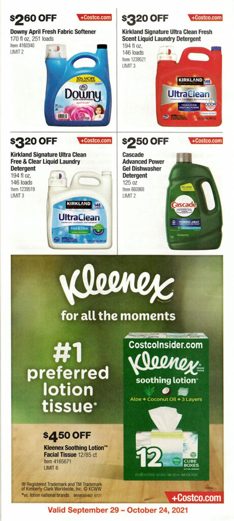 Costco October 2021 Coupon Book Page 18