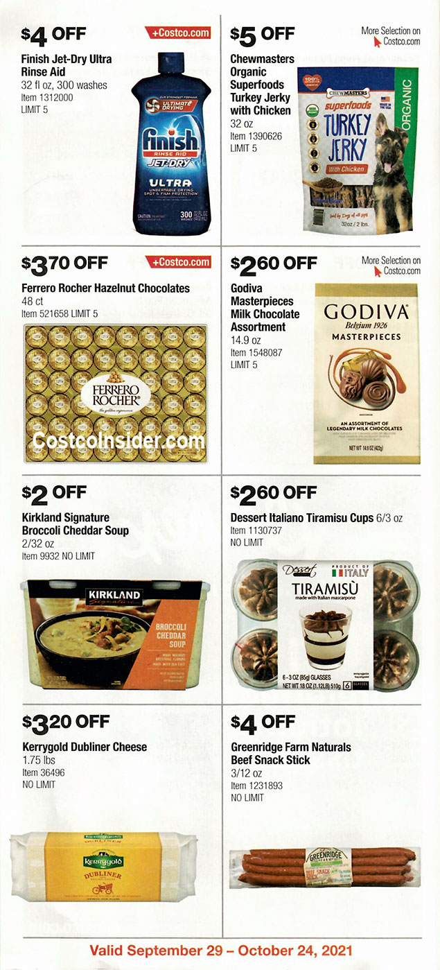 Costco October 2021 Coupon Book Page 19