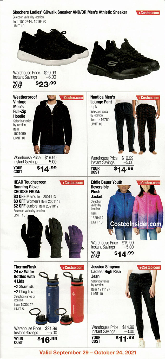Costco October 2021 Coupon Book Page 4