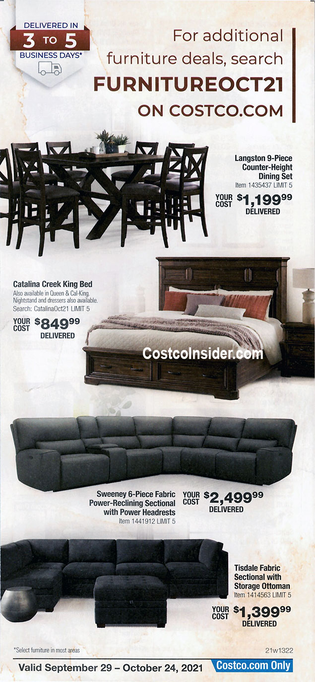 Costco October 2021 Coupon Book Page 9