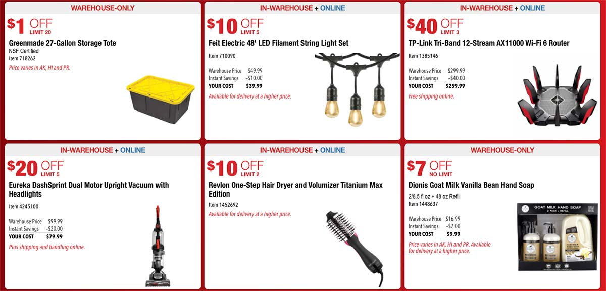 Costco October 2021 Hot Buys Page 3