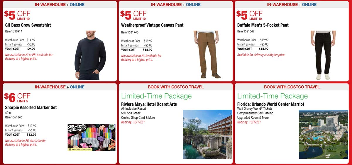 Costco October 2021 Hot Buys Page 5